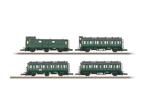 Märklin Spur Z 4-teiliges Personenwagen-Set DB