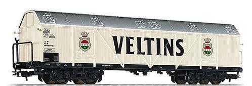 """Liliput Spur H0 Vierachsiger Bierwagen """"Veltins"""" DB Epoche IV"""