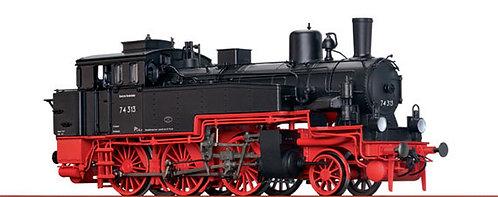 Brawa Spur H0 Dampflokomotive Baureihe 74.0-3 der DB, Epoche III