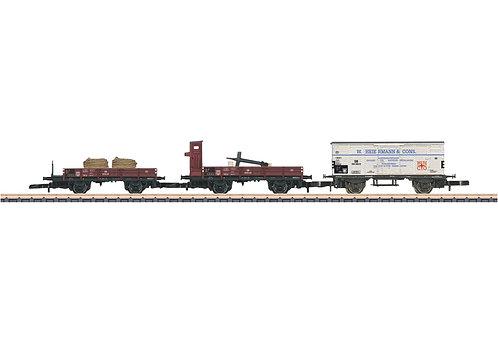 Märklin Spur Z Güterwagen-Set Schiffstransport