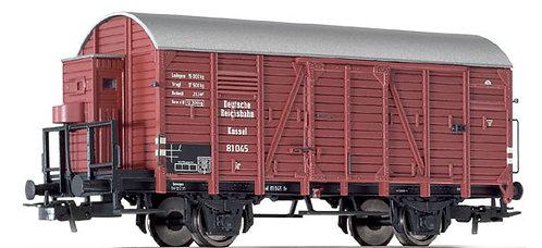 Liliput Spur H0 L235090 Güterwagen mit Bremserhaus, Gr 81 045 Kassel DRG, Epoche