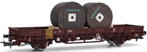 """Rivarossi Spur H0 DB Rungenwagen U-x Ep.5, beladen mit Kabeltrommeln """"Siemens"""""""