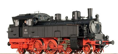 Brawa Spur H0 Tenderlokomotive Baureihe 75 Achsfolge 1'C1' der DB, Epoche III