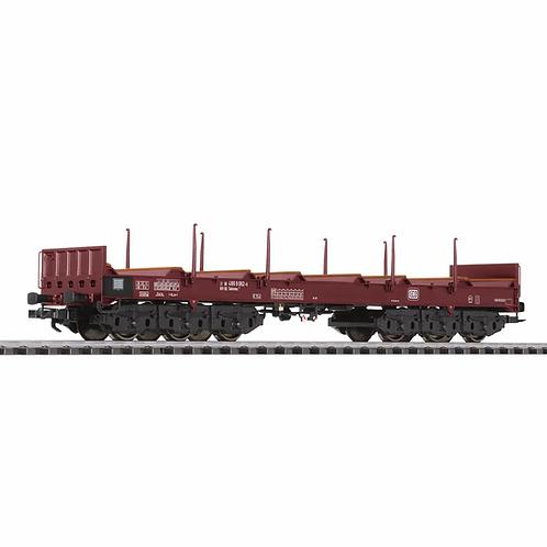 Liliput Spur H0 Transportwagen Bauart Sahmms 711 für Blechcoils DB in Ep.IV-V
