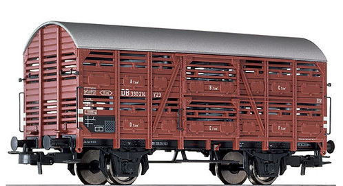 Liliput Spur H0 Verschlagwagen Bauart V 23 (330 214) der DB, Epoche III