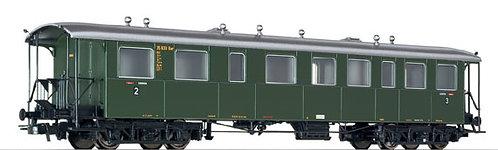 LilipuLiliput Spur H0 Eilzugwagen 2./3. Klasse, Badische Bauart DB, Epoche III