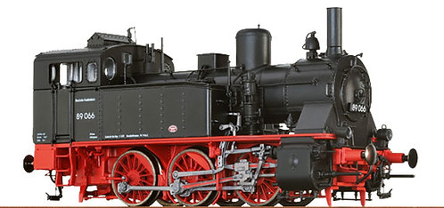Brawa Spur H0 Dampflokomotive Baureihe 89.0 der DB, Epoche III