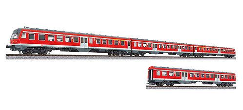 Liliput Spur H0 4-teiliger Dieseltriebzug Baureihe 614/914 der DB Epoche V Sound