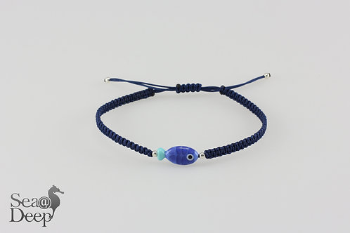 Fish Blue Rope