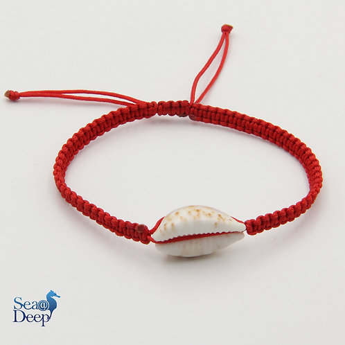 Seashell Red Rope