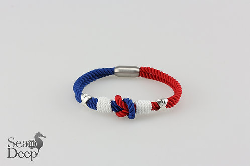 Red Blue White Rope