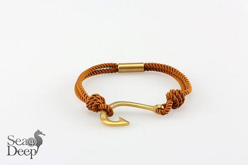 Silver Hook - Orange Rope
