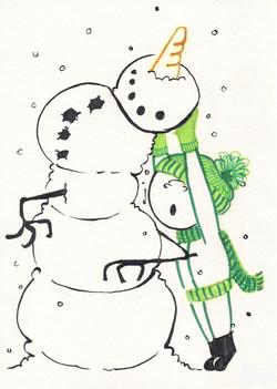 snowmanstack