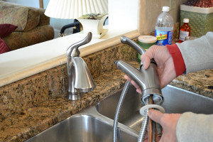 Faucet and Sink Installation