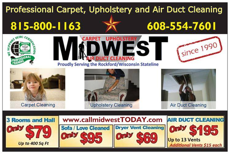 Midwest Carpet Upholstery And Air Duct Cleaning