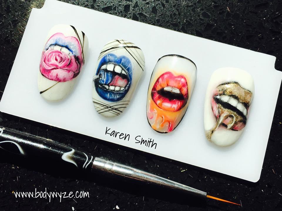 lips nails