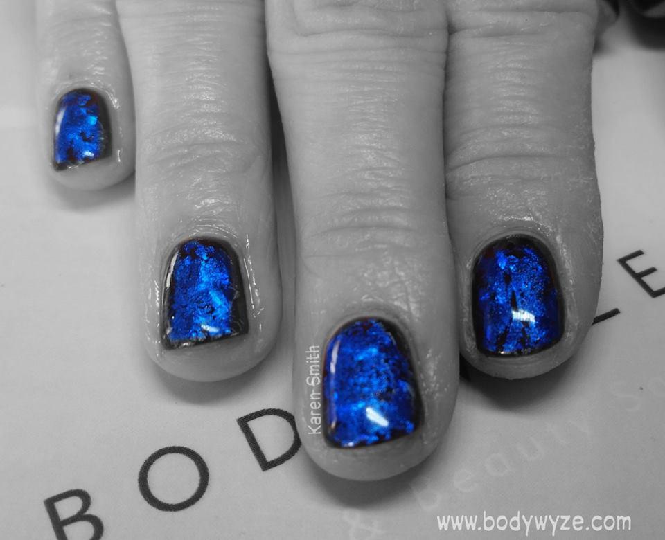 blue foil