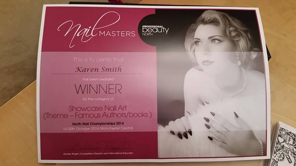 showcase nail art competition winner