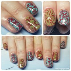 retro nails
