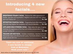 new facials