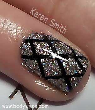 close up glitter