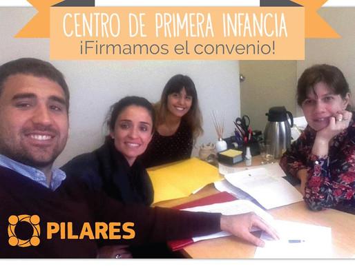 Centro de Primera Infancia: ¡Firmamos el convenio!