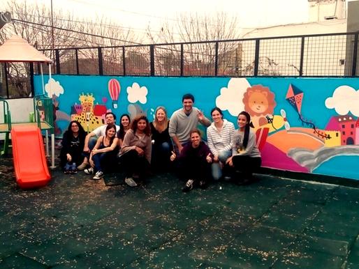 """¡Nuevo mural en """"Pilarcitos""""!"""