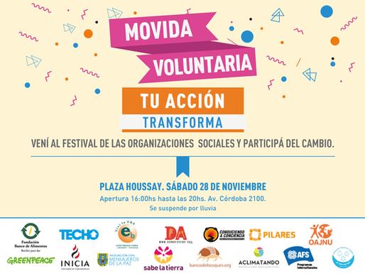 Acción que transforma: 3° edición de la Movida Voluntaria