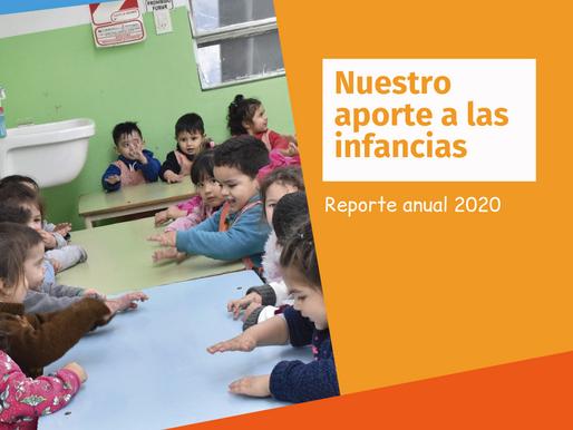 Reporte 2020: nuestro aporte a las infancias