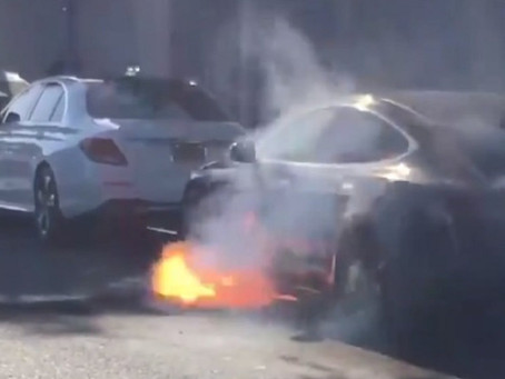 Do Electric Vehicles Deserve a Media Reputation as a Fire Risk? Part 1 of 2
