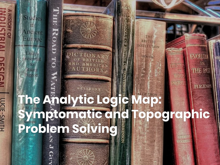 The Analytic Logic Map: Symptomatic and Topographic Problem Solving