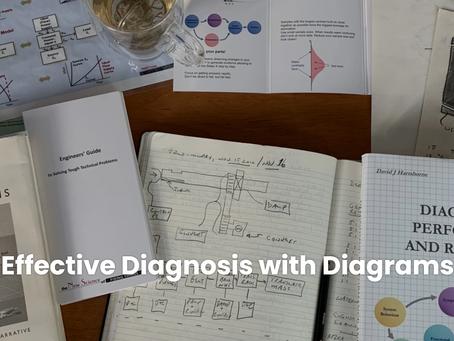 Effective Diagnosis with Diagrams