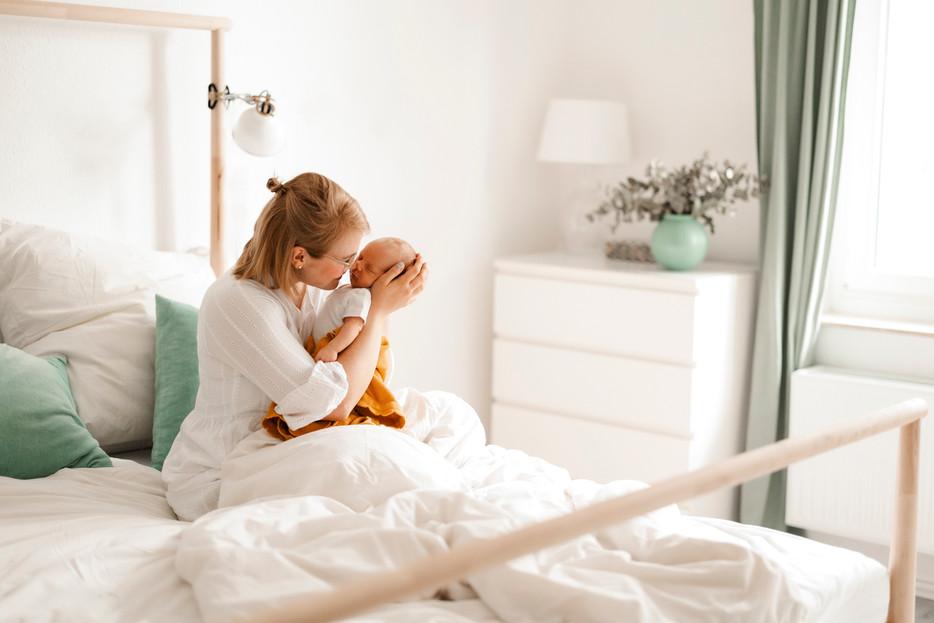 Newbornshooting in Köln - so kann eine Homestory ablaufen