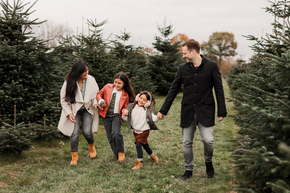 Emotion vor Perfektion - auch beim Winter-Weihnachtsshooting