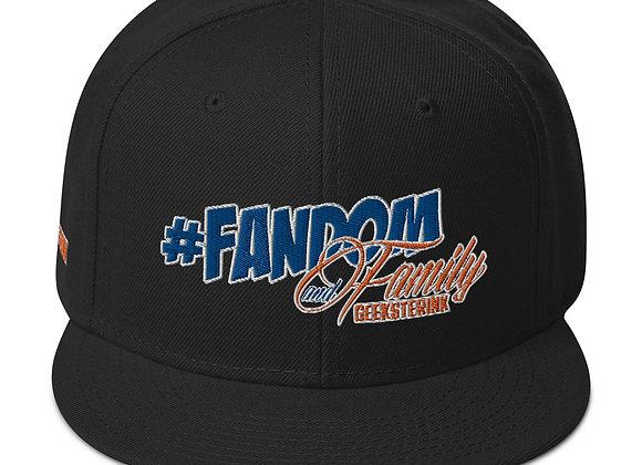 #Fandom & Family- Snapback Hat