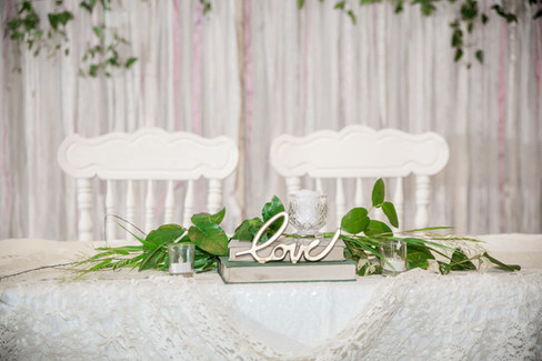 Drift Salvage and Decor rentals/ Sherwood Forest Event Center location