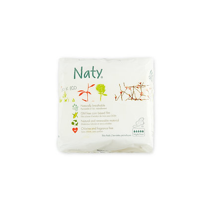Naty Sanitary Towels Ultra Normal +