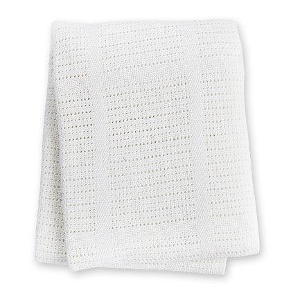 White Cellular Blanket