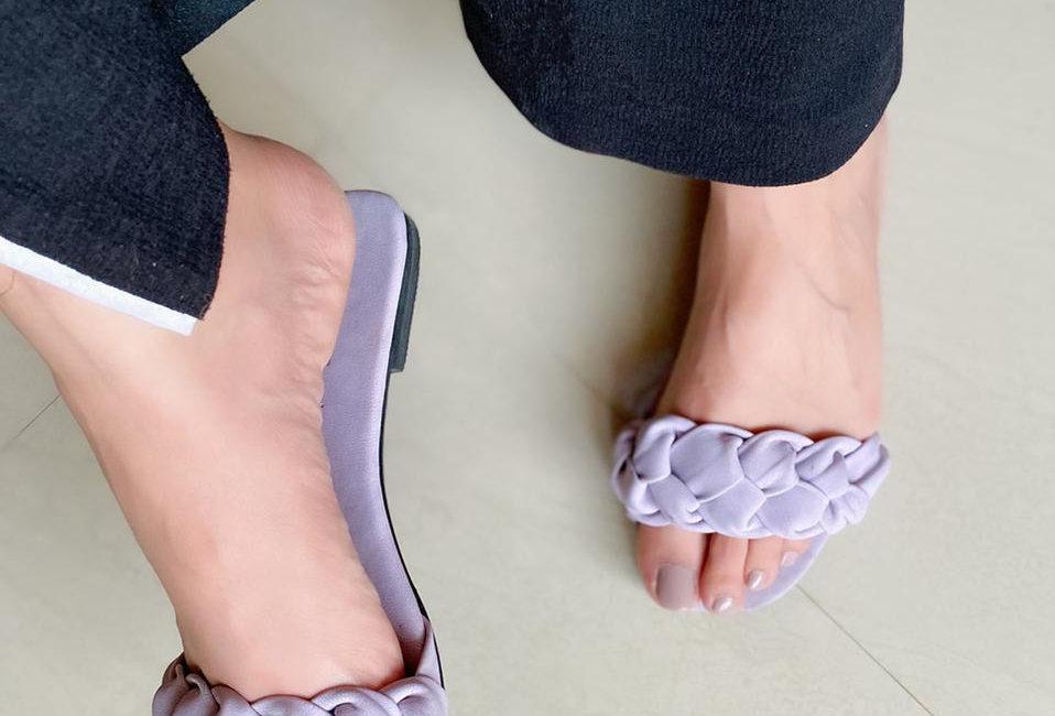 New Braided Black Sandals
