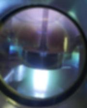 Плазменная очистка цилиндрического изделия