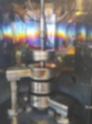 Установка вакуумного напыления с тремя кольцевыми магнетронами и узлом очистки