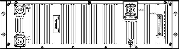 """Блок питания магнетрона распыления """"ИВЭ-141"""" с двумя выходами аналоговым управлением"""