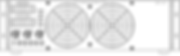 """Блок питания источника ионов """"ИВЭ-341"""" вид спереди"""