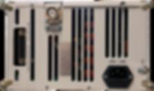 """Блок питания источника ионов """"ИВЭ-341М-02SА"""" вид сзади"""