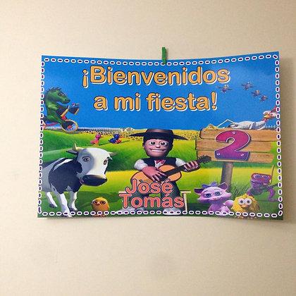 Poster de bienvenida
