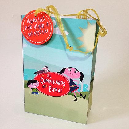 Bolsa de papel para dulces
