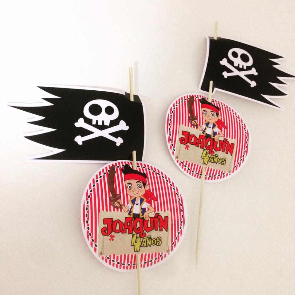Imagenes para centros de mesa Jake y los piratas.jpg