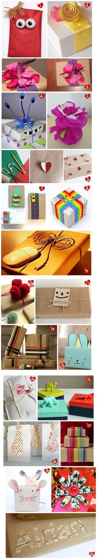 Ideas: Envoltorios creativos