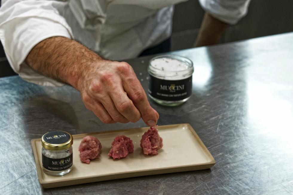 Blacksummer truffle sea salt