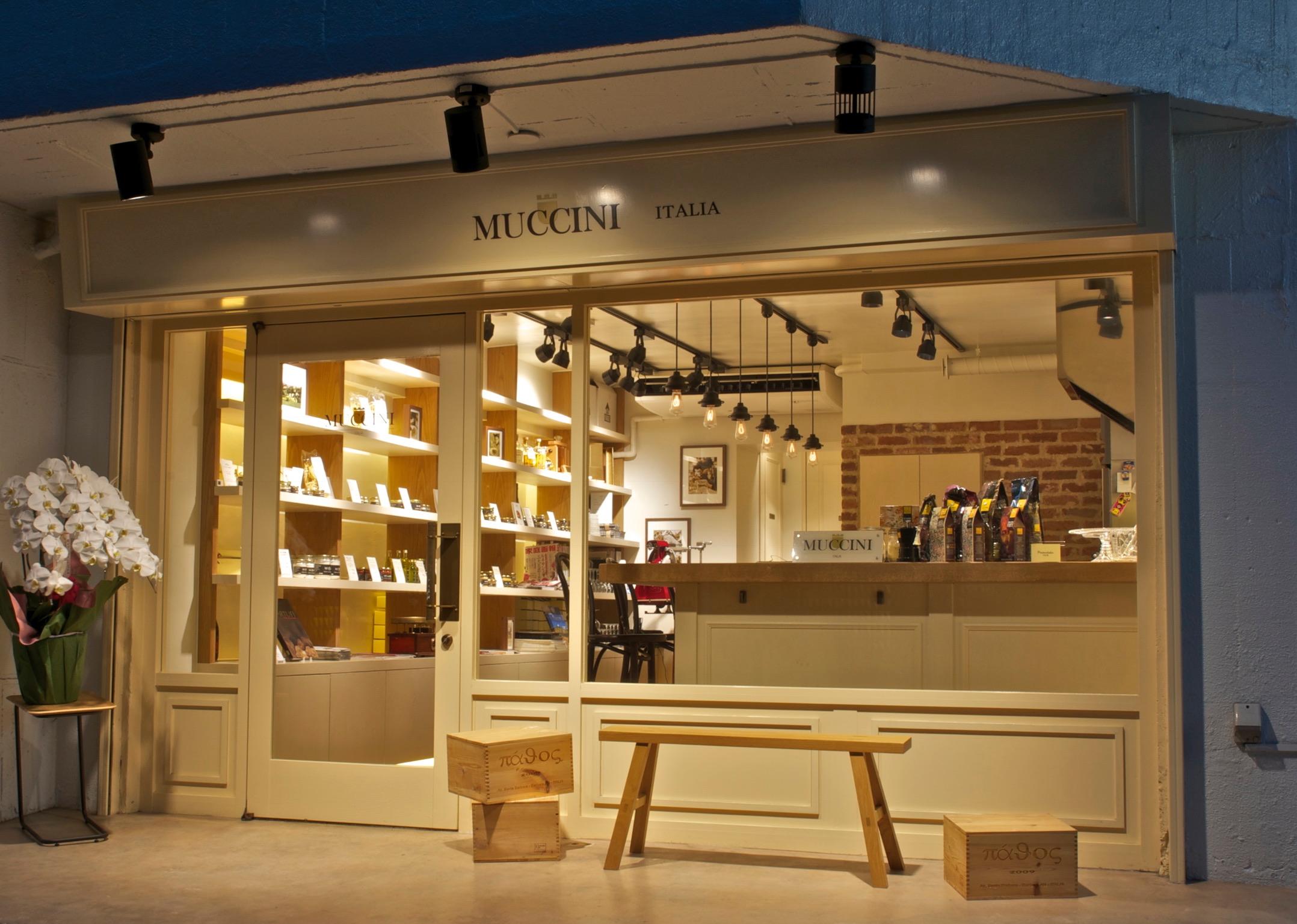 ムッチーニ イタリア店舗